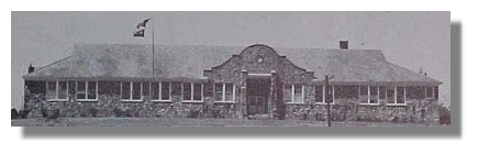 Murray County High School, built 1934